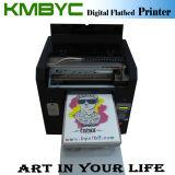 Impressora digital Flatbed A3, máquina de impressão profissional para têxteis