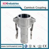 En acier inoxydable de raccord rapide du flexible de type C/Racor Encapsulado