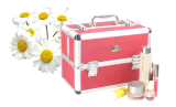 TraysのMakeupのための多彩なAluminium Cosmetic Case