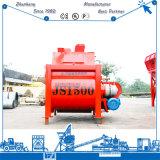 Eixo gêmeo eficiente elevado do misturador concreto da série 1500L de Js