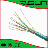 4PR 24 AWG FTP Cable LAN Cable Cat5e con la norma ISO// RoHS CE