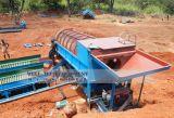 Planta que se lava de la criba para el equipo aluvial de la minería aurífera