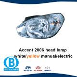 De Fabriek van de Lamp van de Auto van de Koplamp van het Accent 2006 van Hyundai van China 92101-1e000 92102-1e000