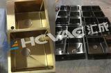 PVD Cocina Cuarto de baño de oro de plástico piezas de metal vacío el Equipo de recubrimiento de nitruro de titanio, vacío Coater