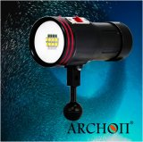 Red Purple/UV/White Lights를 가진 Archon 크리 말 Xml LED 50W Lumens Hand Hold Torch Light