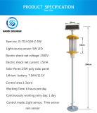 La Energía Solar lámpara mata insectos fabricado en China Goldsun