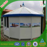 강철 프레임 샌드위치 위원회 몽고 Yurt를 위한 Prefabricated 집 천막