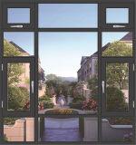 Aluminiumfenster mit Metallineinander greifen-Flügelfenster-Fenster
