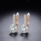 Commerce de gros cristaux de zircon Rhinestone Fashion femmes Lady Stud Earring