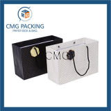 Personalizado de la venta caliente bolsa de papel bolsa de transporte del papel de impresión (DM-GPBB-102)