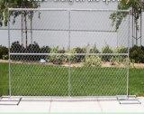 6FT*12FT 미국 옥외 체인 연결 임시 건축 담