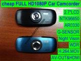 """Câmera de controle remoto PRO Sony Imx322 CMOS DVR com LCD de 2,7 """", Full HD 1080P, H. 264. Declaração de vídeo digital, melhor visão noturna, câmera de carro de 5.0mega DVR-2712s"""