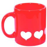 Tazza di ceramica di promozione verniciata colore di ceramica del rifornimento 11oz di fabbricazione della tazza
