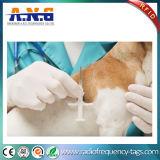 Modifica di vetro passiva libera di Lf RFID/animale senza contatto che segue le modifiche con la siringa