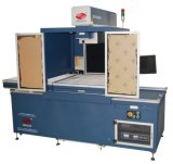 180W 250W Faser-Laser-Markierungs-Maschine für das lederne Aufbereiten