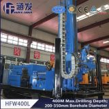 con alta efficienza con la piattaforma di produzione rotativa di Hfw400L e del martello idraulica potente del compressore d'aria, del pozzo d'acqua