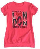 Sgt-066 인쇄를 가진 아이들 옷에 있는 형식 편지 소녀 t-셔츠