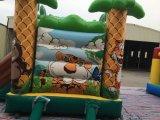 Château plein d'entrain de thème gonflable populaire de forêt à vendre