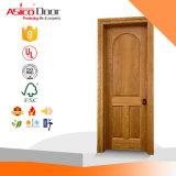 Твердая декоративная деревянная дверь панели