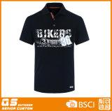 Men's polo noir T-Shirt de sport