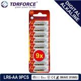 batteria a secco dell'accumulatore alcalino di 1.5V Digitahi con BSCI (LR03-AAA 10PCS)