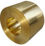 Tira/folha/bobina de aço revestidas de bronze