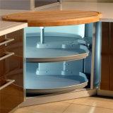 Fabricante L em forma de laca de piano Móveis de cozinha em madeira