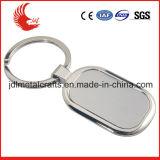 Porte-clés fait sur commande en forme de coeur en métal d'articles promotionnels en gros