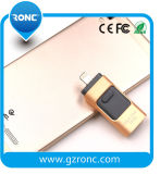 Movimentação de venda quente 8g/16g do flash do telefone móvel OTG para o iPhone de Samsung
