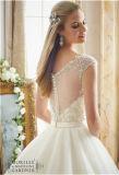 2016 noiva de perolização deVenda nova A - linha vestido de casamento, personalizado