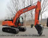 Petites excavatrices moyennes Baoding de la chenille Bd150