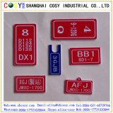 Hoja doble del grabado del color del ABS para el CNC o la máquina del laser