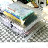 Do vestuário Ziplock desobstruído do PVC da alta qualidade saco de empacotamento