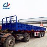 2018 CCC/paroi latérale de la certification ISO à plat ouvert semi/remorque de camion pour la vente