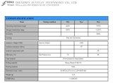 2 : 1 Large gamme d'entrée de tension, Regualted sortie double convertisseur DC/DC Wra2405D-5W
