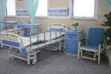 AG-Obt015 MDF mesa de hospital de mesa de madeira sobre a cama