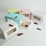 케이크를 위한 서류상 포장 상자, 식품 포장 상자 및 무스
