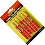 нетоксический водоустойчивый красный цвет отметки маркировочного карандаша Crayon маркировки 6PCS
