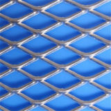 Aço inoxidável galvanizado arquitectónico metal expandido