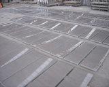灰色カラー大理石の石のタイルのシンディの灰色の大理石の平板のタイル