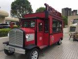 De hete Vrachtwagen van het Voedsel van de Motorfiets van de Vrachtwagen van het Voedsel van het Fiberglas van de Kwaliteit van de Verkoop Beste omfloerst Vrachtwagen