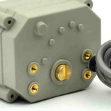 電気モーターを備えられた球弁24VDC水弁のアクチュエーター