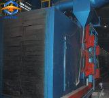 강철 플레이트 및 H 광속 표면 끝마무리 청소를 위한 롤러 컨베이어 유형 탄 폭파 기계