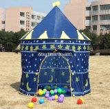 Jolis gosses en gros tente, princesse Tent