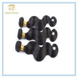 Heiße Verkaufs-natürliche Farben-wellenförmiges Malaysia-Jungfrau-Haar mit Fabrik-Preis Wfmbw-001