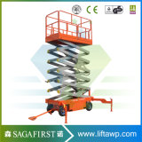 10m Automatic Mobile Self-service Moving Scissor Top spin