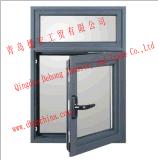 Ventana de aluminio revestida del polvo/ventana de aluminio