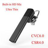 Construit dans le microphone Noice de HD annulant l'écouteur universel de Bluetooth des affaires CSR4.0
