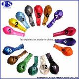 空気が付いている金属気球は真珠カラー気球を膨脹させる