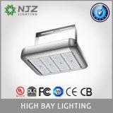 Alta illuminazione della baia di Flb-300 LED, illuminazione industriale luminosa eccellente, equivalente di 750W HPS, 33100lm, bianco puro di luce del giorno, alti indicatori luminosi di inondazione della baia da 60/90 di grado LED